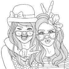 Bff Coloring Pages People Coloring Pages Patinsudouest