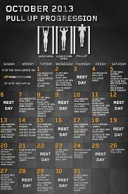 Perfect Pullup Workout Chart Sport1stfuture Org