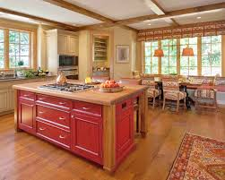 Red Cabinets In Kitchen Kitchen Outstanding Red Wood Kitchen Cabinets Decor Barn Red