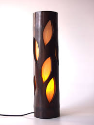 Wood Lamp Bedside Lamp Natural Bamboo Lamp Parents39 Day