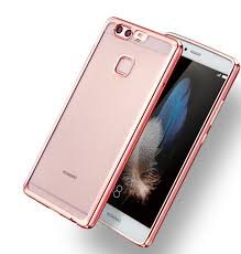 huawei p9 lite colors. case huawei p9, p9 plus, lite electroplated transparent silicone | casefanatic colors a