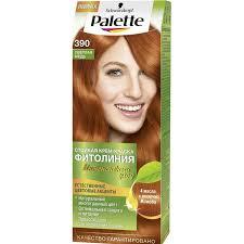 Light Copper Palette Fitolinija 390 Light Copper 110 Ml In Hair Color