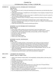 Resume For A Business Analyst Business Analyst Technology Resume Samples Velvet Jobs
