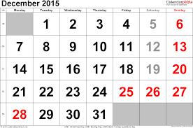 Calendar December 2015 Uk Bank Holidays Excel Pdf Word Templates