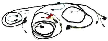 head light wiring harness with lamps 1965 alloy metal products
