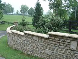 mountain stone wall caps