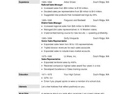 Resume Resumes For Free Dazzling Resume Free Format Memorable