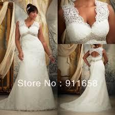 Vintage Style Plus Size Wedding Dresses