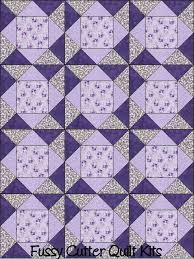 Purple Lavender Roses Flower Floral Fabric Easy Pre-Cut Quilt ... & Purple Lavender Roses Flower Floral Fabric Easy Pre-Cut Quilt Blocks Top  Kit Quilting Squares Adamdwight.com