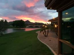 Sunset From The Deck Picture Of Chart House Scottsdale