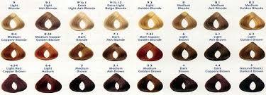 Hair Color Loreal Inoa Hair Color Chart India