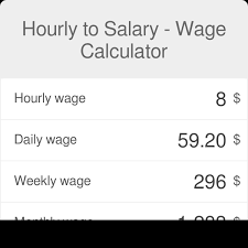 Hourly Payroll Calculator Free Hourly To Salary What Is My Annual Income Omni Calculator