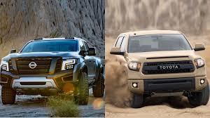 2016 Nissan Titan Warrior vs 2016 Toyota Tundra - YouTube