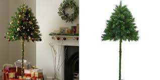 (Image credit: Argos) Half Christmas Trees Are For Sale Cat Owners | Apartment Therapy