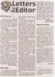 Letters to the Editor March%