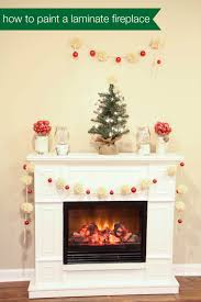 painting laminate furnitureHow to Paint a Laminate Fireplace  MomAdvice