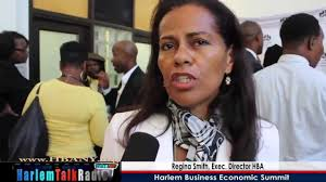 Regina Smith Harlem Business Economic Summit 2012/HBA Interview - YouTube