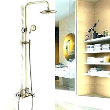 how to install shower faucets replacing pan cost new replace faucet outside stem how to install shower