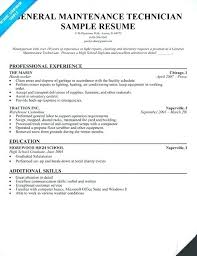 Maintenance Technician Resume Awesome 618 Maintenance Technician Resume Examples Browse Electrical Maintenance
