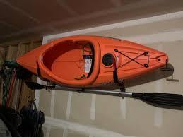 wall mounted kayak storage rack with