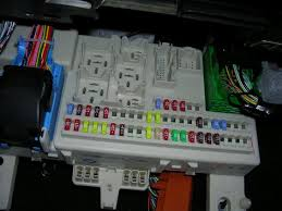 how to independent fogs out running wires through the 5 once the fuse panel swings down you will see this disconnect all the electrical connections the same way as before lift the fuse panel and pull it