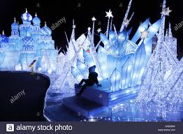 Magical Winter Lights Tickets Houston Usa 15th Nov 2019 A Boy Poses For Photos During