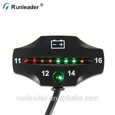 Runleader Motorcycle Battery Voltage Tester Battery Capacity Meter Used For Golf Cart Club Car Motocross Atv Buy Battery Capacity Meter Battery
