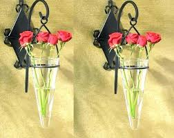 wall vases for flowers flower sconces wall vase wall sconce vases for flowers home decor ideas for small spaces glass pocket wall sconce vases for flowers