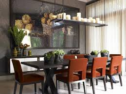 rectangular dining room chandelier elegant linear if you have an oversized table or