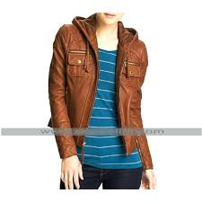 hooded leather jacket womens ll womens hooded faux leather jacket uk