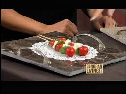 How to make a Marble Tile Serving Tray. Love it.