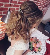 hairstyles for wedding. Extraordinary Idea Of The Weddings Also Half Up Wedding Hair 2018