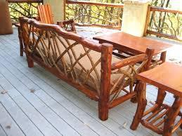wood deck furniture diy pallet outdoor wooden
