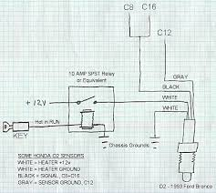 how to wire a 4 wire o2 sensor in a cx one wire how to wire a 4 wire o2 sensor in a cx one wire homemadeturbo diy turbo forum