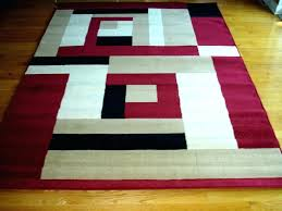 red and white rug modern red area rugs beige and white rug marvelous black design carpet