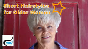 Hairstyles For Women Over 60 Older Women Youtube