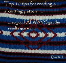 How To Read Knitting Patterns Unique Inspiration Ideas