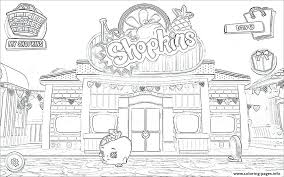 Shopkin Coloring Pages Free Printable Halo 5 Download T On Images