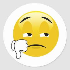 Thumbs Down Sad Emoji Stickers