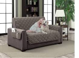 Home Dynamix Slipcovers: All Season Quilted Microfiber Pet ... & Home Dynamix Slipcovers: All Season Quilted Microfiber Pet Furniture Couch  Protector Cover - Gray - Walmart.com Adamdwight.com