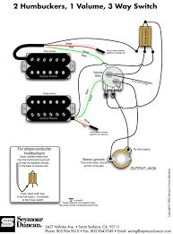 guitar & bass pickup wiring artist relations 2 Humbucker 1 Volume 1 Tone Wiring humbucker wiring diagrams click here 1 hum, 1 phatcat, 2 vol, 1 tone 2 humbucker 1 volume 1 tone wiring diagram