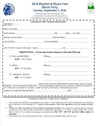 Vendor Application Form The RB Fest TPCDC 1