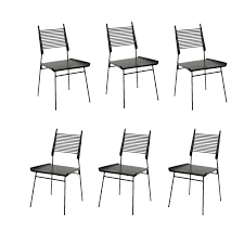 tait showroom shop news outdoor furniture lead. Paul McCobb Set Of Six Shovel Chairs - Mid-Century Modern Dining Dering Hall Tait Showroom Shop News Outdoor Furniture Lead