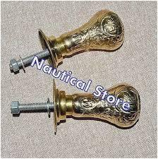 solid door handles best vintage reclaimed solid brass door knobs handles with