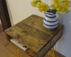 pallet furniture etsy. Rustic Industrial Side Table, Bedside Handmade, End Pallet Furniture Etsy