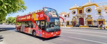 seville city hop on hop off bus tour