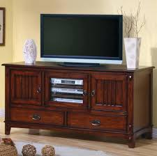 Bed With Tv Built In Thin Tv Stand Duke Distressed Natural Gallery Also Small Stands