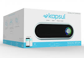 KAPSUL W5 - Modernized Window AC Unit Smart Mounted Air-conditioner W5: A New