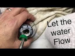 increase water pressure moen shower head