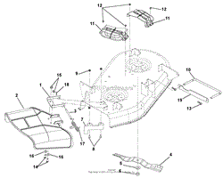 gravely 915146 035000 zt 34 parts diagram for wiring diagram belt covers and blades